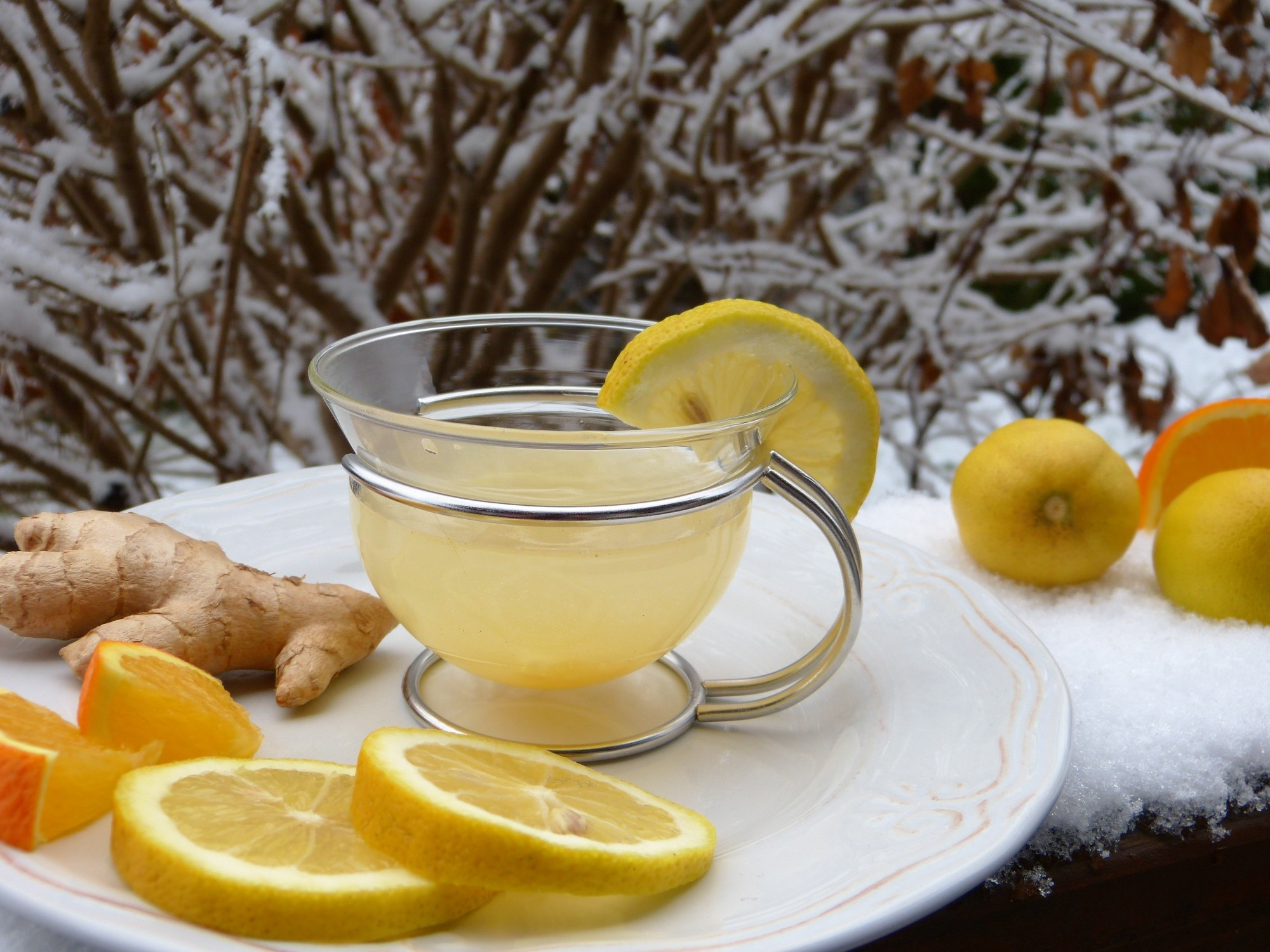 natural lemon drink