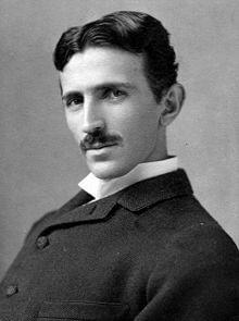 Nikola Tesla Portrait circa 1890