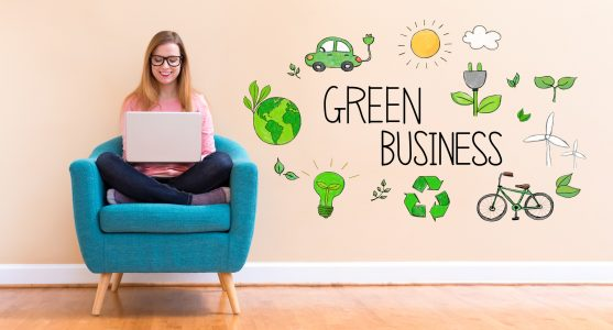 small business can go green